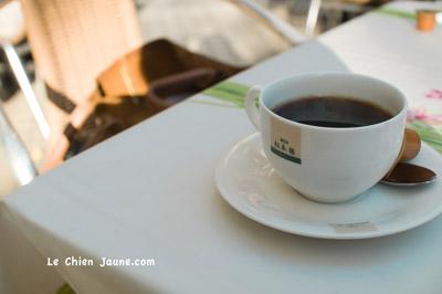 松本楼のコーヒー