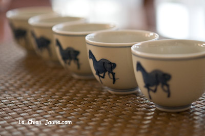 竹泉の茶杯