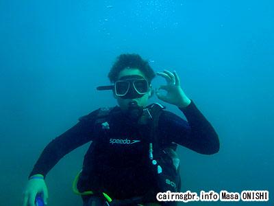 グレートバリアリーフで体験ダイビング