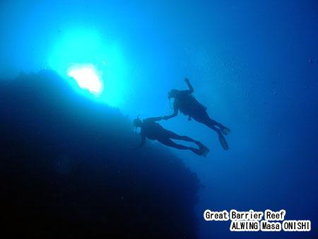 グレートバリアリーフ で ダイビング