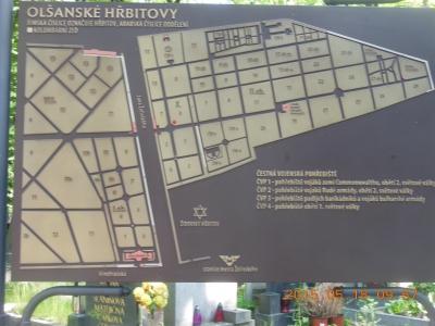墓地外略図
