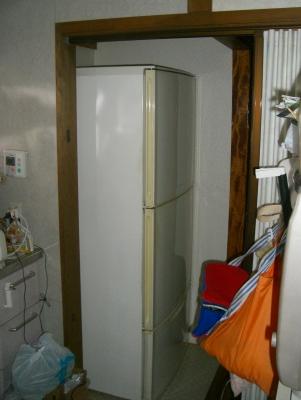 15年以上も使った冷蔵庫さん、ご苦労様です!