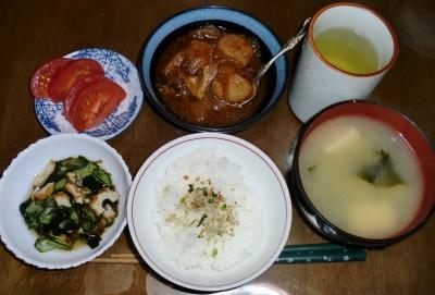 4月 5日(火):晩ご飯〜365キロカロリー