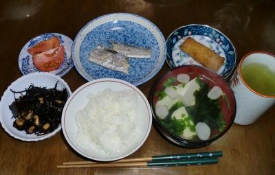 4月22日(金):晩ご飯〜488キロカロリー