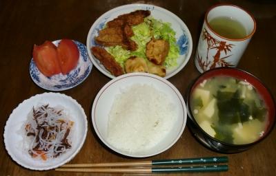 4月28日(木):晩ご飯〜513キロカロリー