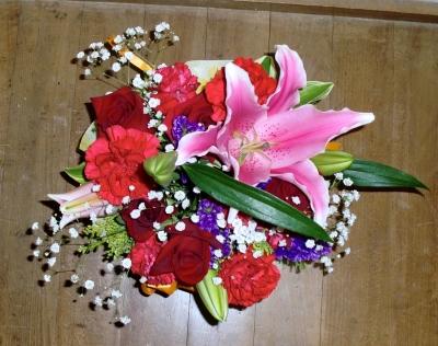 2011年の母の日の生花アレンジメント(2)
