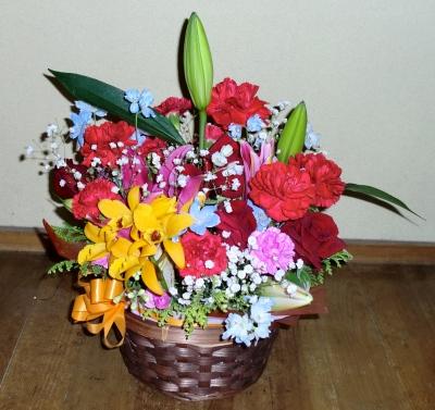2011年の母の日の生花アレンジメント(3)