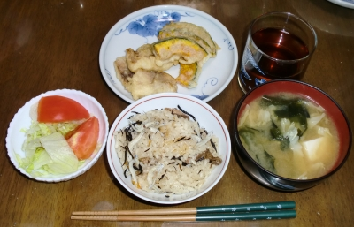 毎日、低カロリーな晩ご飯を!(5.21〜5.27)