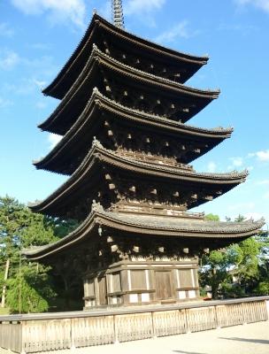 興福寺の五重塔です