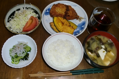 毎日、低カロリーな晩ご飯を!(7.23〜7.29)