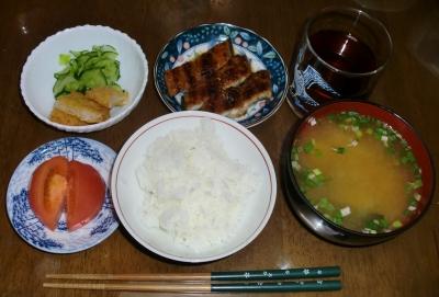 毎日、低カロリーな晩ご飯を!(7.30〜8.5)