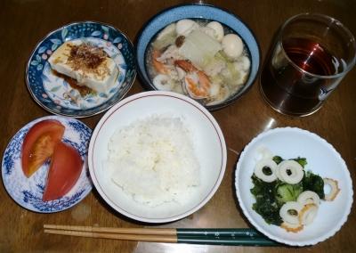 毎日、低カロリーな晩ご飯を!(8.6〜8.12)