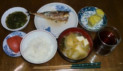 毎日、低カロリーな晩ご飯を!(8.27〜9.2)