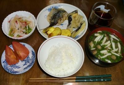 毎日、低カロリーな晩ご飯を!(9.3〜9.9)