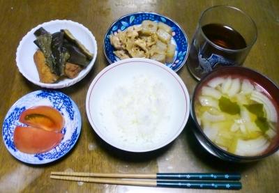 毎日、低カロリーな晩ご飯を!(9.17〜9.23)