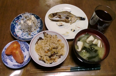 毎日、低カロリーな晩ご飯を!(9.24〜9.30)