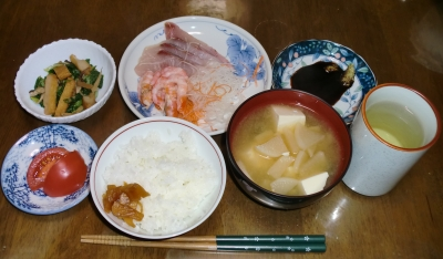 毎日、低カロリーな晩ご飯を!(10.1〜10.7)