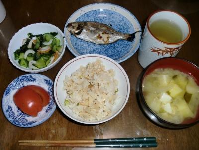 毎日、低カロリーな晩ご飯を!(10.15〜10.21)