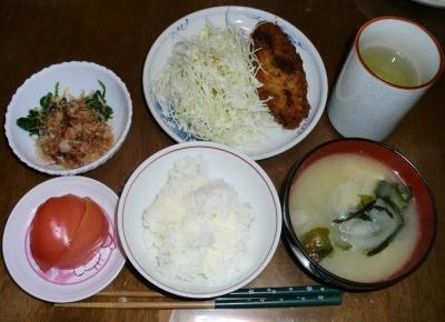 毎日、低カロリーな晩ご飯を!(10.22〜10.28)