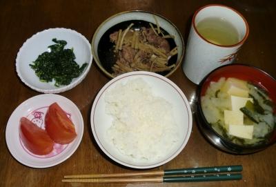 毎日、低カロリーな晩ご飯を!(10.29〜11.4)
