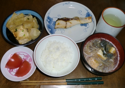 毎日、低カロリーな晩ご飯を!(11.26〜12.2)