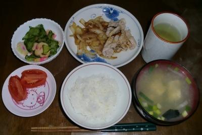 毎日、低カロリーな晩ご飯を!(1.14〜1.20)