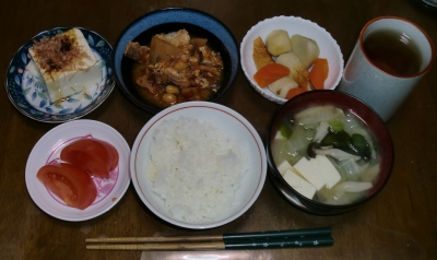 毎日、低カロリーな晩ご飯を!(2.4〜2.10)