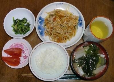 毎日、低カロリーな晩ご飯を!(3.3〜3.9)