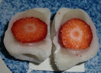 イチゴ大福もお店によっていろいろあるようです!