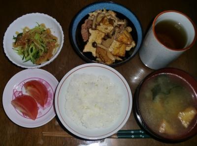 毎日、低カロリーな晩ご飯を!(3.31〜4.6)