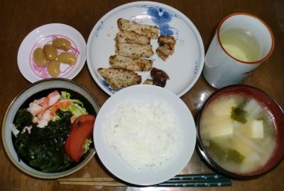 毎日、低カロリーな晩ご飯を!(4.21〜4.27)
