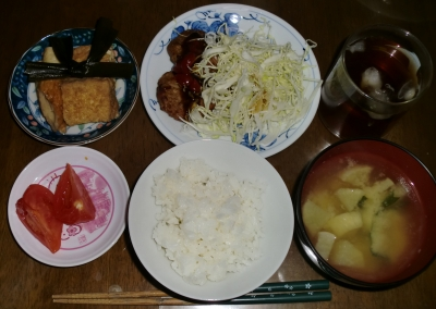 毎日、低カロリーな晩ご飯を!(5.5〜5.11)