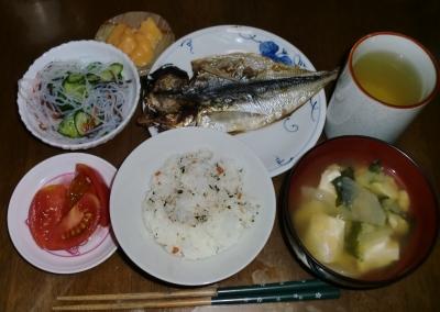毎日、低カロリーな晩ご飯を!(5.12〜5.18)