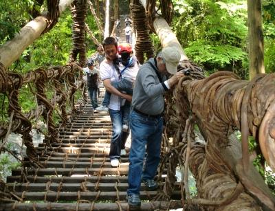 親父と一緒に徳島の祖谷へリフレッシュに!