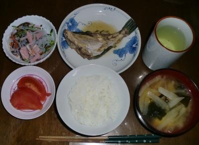 毎日、低カロリーな晩ご飯を!(5.26〜6.1)
