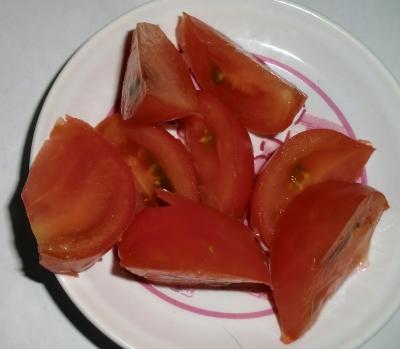 ユースト配信後にトマト、きゅうりのダブル収穫!