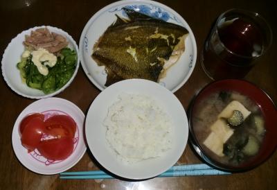 毎日、低カロリーな晩ご飯を!(6.30〜7.6)