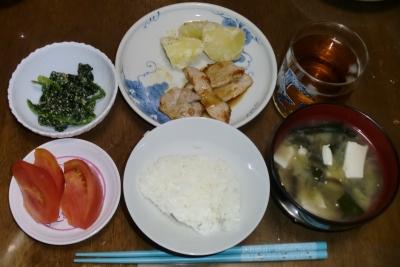 毎日、低カロリーな晩ご飯を!(7.21〜7.27)