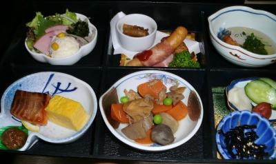 鹿児島の最後の朝も豪華な食事でした