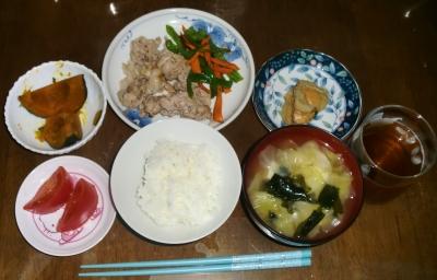 毎日、低カロリーな晩ご飯を!(7.28〜8.3)