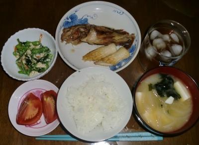 毎日、低カロリーな晩ご飯を!(8.4〜8.10)