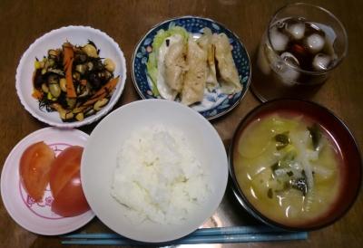 毎日、低カロリーな晩ご飯を!(8.11〜8.17)