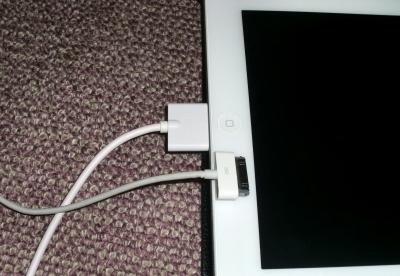 ipad2のUSB接続部分が壊れて買い替えました