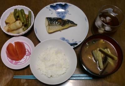 毎日、低カロリーな晩ご飯を!(9.15〜9.21)