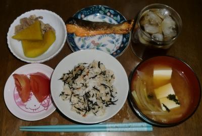 毎日、低カロリーな晩ご飯を!(9.22〜9.28)