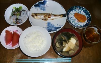 毎日、低カロリーな晩ご飯を!(10.6〜10.12)