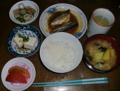 毎日、低カロリーな晩ご飯を!(10.13〜10.19
