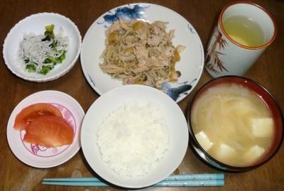 毎日、低カロリーな晩ご飯を!(11.3〜11.9)