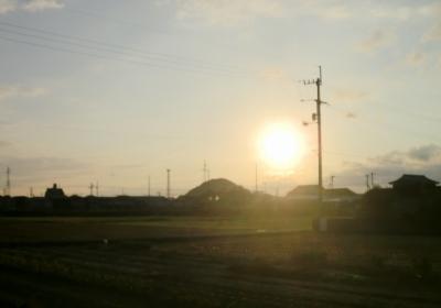 嫁さん実家近くの恵良山近辺での景色他いろいろ