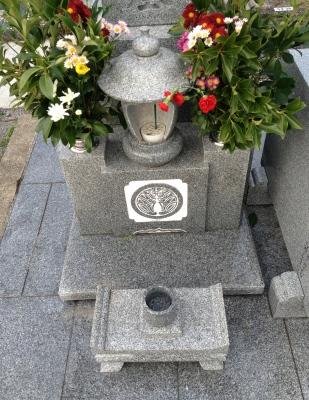 22日は亡き母の月命日なのでお墓参りへ
